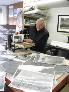 Dave Gunning in his studio 2011