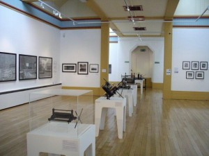 bilston Exhibition of printing pressws and Dave Gunning art work 1